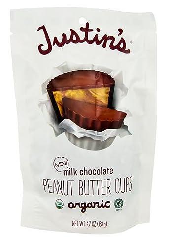 Justin's Nut Butter - Mini Peanut Butter Cups Milk Chocolate - 4,7 oz.