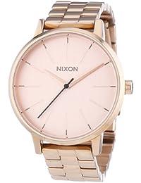 Nixon Damen-Armbanduhr Kensington Analog Quarz Edelstahl beschichtet A099897-00