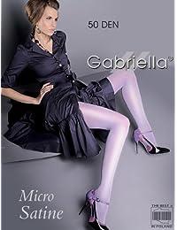 Gabriella vue Densité Collants brillant Collants Micro Satine 50le plus léger effet scintillant Wet Look