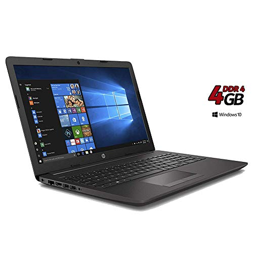 Ordinateur Portable HP 255 G7,15.6 AMD A4 2,60 GHz Turbo Ram 4 Go DDR4/HDD 500 Go,Radeon R3 Graphic, Windows 10 Professional,Bureau,USB 3.0/WiFi/,Clavier QWERTY Italien