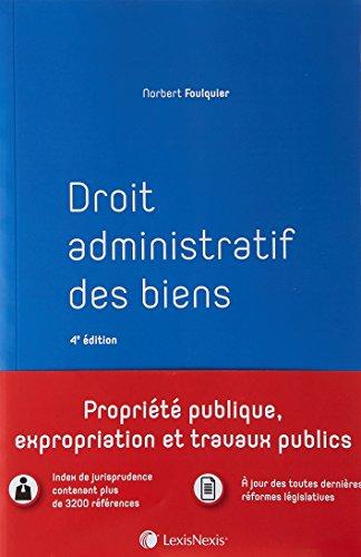 Droit administratif des biens par Norbert Foulquier