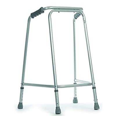 NRS Healthcare Tall Domestic Height Adjustable Walking Frame