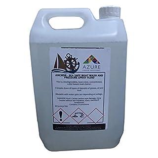Anchor Sea Safe Wasser- und Drucksprühflüssigkeit, biologisch abbaubar, Konzentrat, 5 l