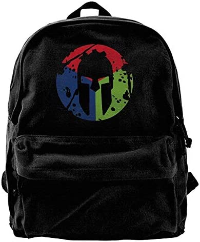 haiyingzhiyi artan Race Trifecta Viny Canvas Shoulder Backpack Backpack Backpack Backpack B07L13WBX4 | La Qualité  ec9f45