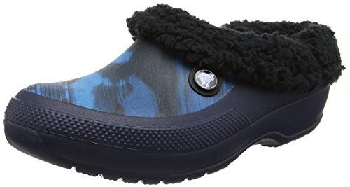 Crocs Classic Blitzen III Graphic, Unisex - Erwachsene Clogs, Blau (Blue Jean), 38/39 EU