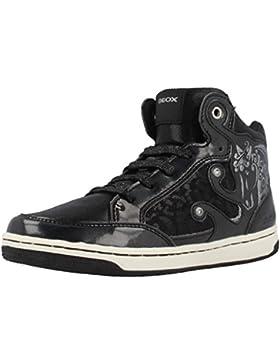 Zapatillas para ni�a, color Negro , marca GEOX, modelo Zapatillas Para Ni�a GEOX JR CREAMY A Negro