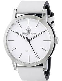 Burgmeister Armbanduhr für Damen mit Analog Anzeige, Quarz-Uhr und Lederarmband - Wasserdichte Damenuhr mit zeitlosem, schickem Design - klassische, elegante Uhr für Frauen - BM523-186 Ibiza