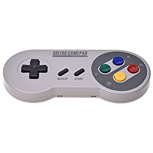 8Bitdo SFC30 Wireless Gamepad Bluetooth Controller with Classic Joystick for IOS/Windows/Android