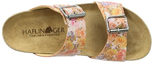 Haflinger Andrea-Rose, Ciabatte Donna Orange (rost)