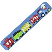 mygrips gm105–128Pomo Tren Puerta muebles infantiles/nauf, Azul 2