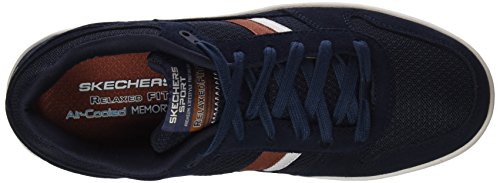 Skechers Madolly, Chaussures de Running Homme Bleu (Navy)