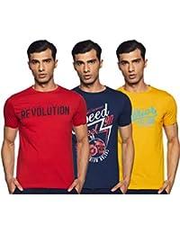 Duke Men's Cotton T-Shirt (Pack of 3)