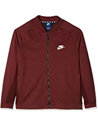 Nike Sportswear Advance 15, Chaqueta Hombre, Hombre, Sportswear Advance 15, Dark Team Red/Black/Black/White,…