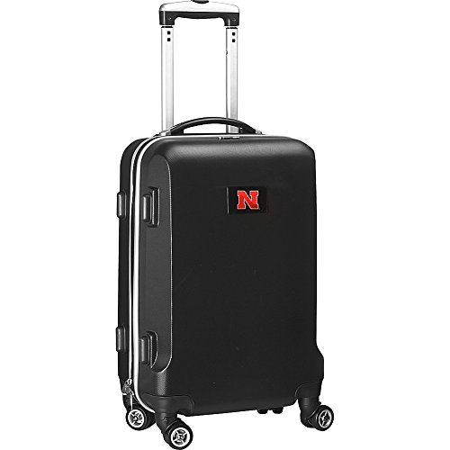 ncaa-wisconsin-badgers-carry-on-hardcase-spinner-black-by-denco