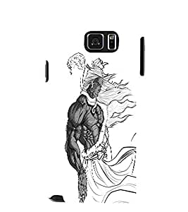 EPICCASE Cool Lord shiva Mobile Back Case Cover For Samsung Galaxy Note 5 (Designer Case)