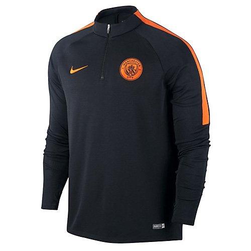 Nike 809683-014 Sudadera Manchester City, Hombre, Negro, L
