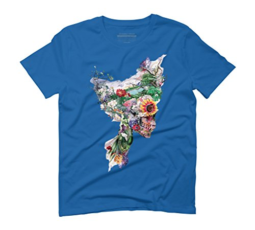 Don't Kill The Nature Men's Graphic T-Shirt - Design By Humans Royal Blue