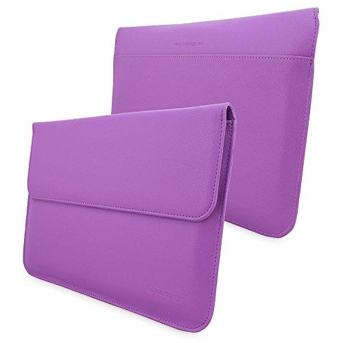 MacBook 12Fall, Snugg & # 8482;-Leder Sleeve (lila) für Apple MacBook 12mit Retina (Lila Macbook Sleeve)