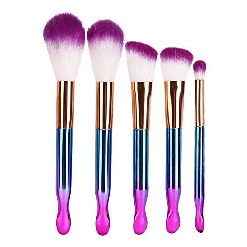 5 stücke Schönheit Make-Up Pinsel Kit, Professionelle Kosmetik Pinsel Lidschatten Foundation Puder...