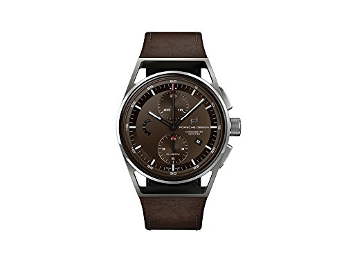 Montre Automatique Porsche Design 1919 Chronotimer Flyback, Marron, Titane, COSC