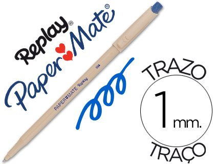 Stylo Effacable Paper Mate - Stylo à bille Papermate Replay - pointe