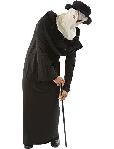 Adult Mens Elephant Man Halloween Horror Movie Fancy Dress Costume