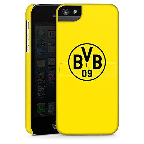 Apple iPhone 7 Silikon Hülle Case Schutzhülle Borussia Dortmund BVB Logo gelb Premium Case StandUp
