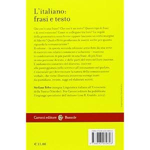 L'italiano: frasi e testo