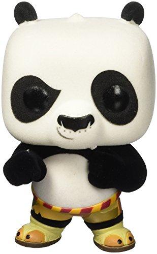 Funko 6002-Kung Fu Panda, Figura de Vinilo Pop, 250Po, Flocado, 9cm