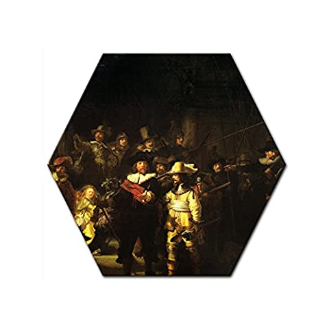 Bilderdepot24 Canvas Picture Rembrandt - Old Masters