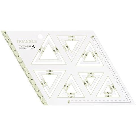 Clover pezzo template triangolo equilatero 57-998