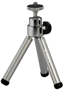 Cullmann Alpha 15 Ministativ mit Kugelkopf silber