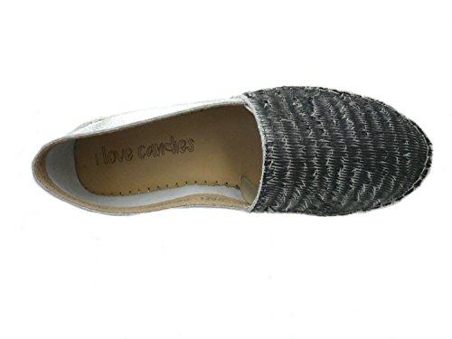 I love candies ILC 43013, Ballerine Donna sfumature di grigio