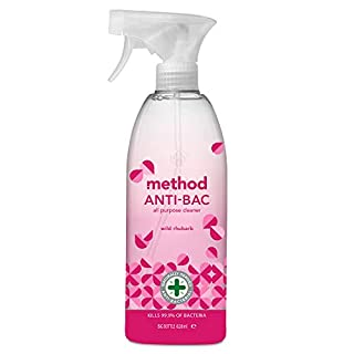 Method Wild Rhubarb Anti-Bac All Purpose Cleaner, 828 ml (Pack of 8) (B075KD56HQ) | Amazon Products