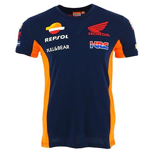 honda-repsol-moto-gp-team-blau-marquez-pedrosa-t-shirt-offiziell-2017