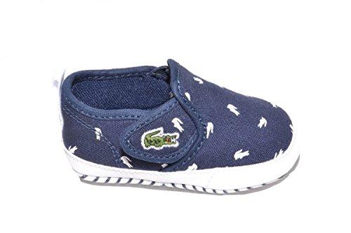 Lacoste Bebé Marina/Bianco Gazon Crib 116 2 SPB Sneaker-Bebé 1