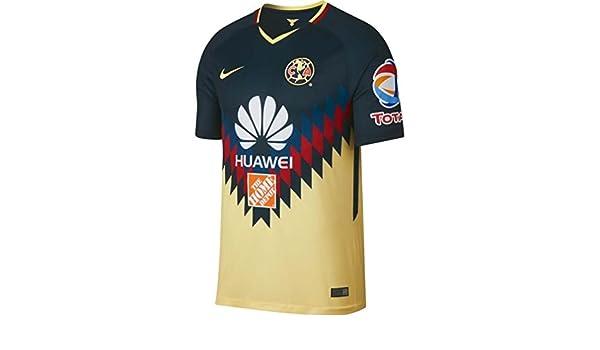 1fe77807d1e Nike 2017-2018 Club America Home Football Shirt  Amazon.co.uk  Sports    Outdoors