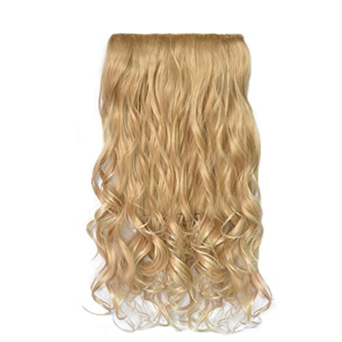 Fluffy Slightly Wavy Extension Hairpiece Long Full Fashion Synthetic Hair Perücke Haarteile for Carnival/Fancy Dress/Party/Shows ()