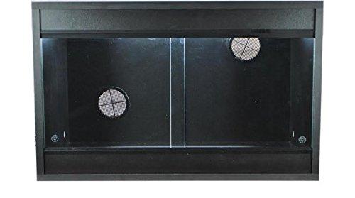 Vivarium 24x15x15 Inch Repti-life Vivarium in Black Flatpacked 1
