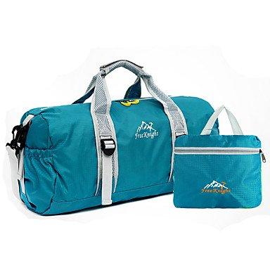 SUNNY KEY-Wanderrucksäcke@Fengtu Falten Fitness Handtaschen Reise Duffel Gym Bag / Yoga Tasche Reise Veranstalter Daypack Holdall Camping&Wandern Angeln Purple