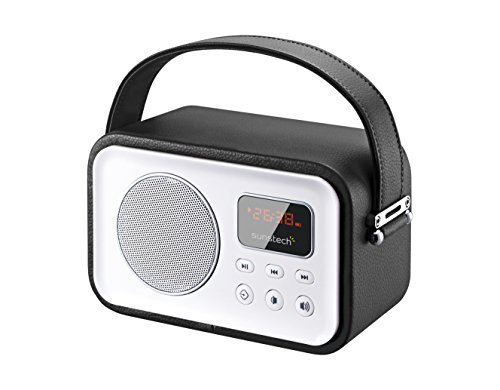 Sunstech RPBT450BK - Radio diseño Retro Bluetooth