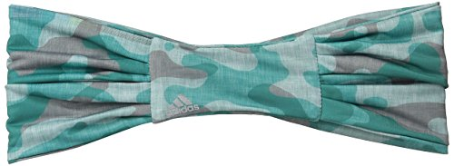 adidas Damen Varsity Haarband, Damen, EQT Green/Silver/Sport Camo Print