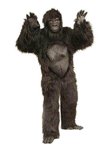 Generique - Gorilla Kostüm Erwachsene Einheitsgröße