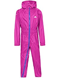 Trespass Kids Button II Rain Suit