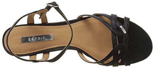 5d636cbeb3079e ... ESPRIT Damen Birkin Sandal Offene Sandalen Schwarz (001 Black) ...