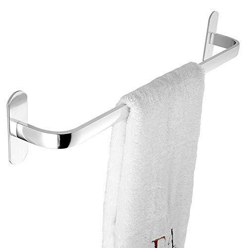 Gjrff Handtuchhalter Space Aluminium Single Pole, Double Pole Free Punch Handtuchhalter (Size : A 30 cm) (Handtuchhalter 30 Bronze Eingerieben öl)