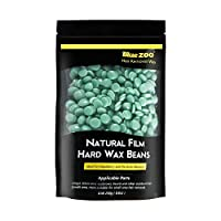 BlueZoo Depilatory Hard Wax Beans - 250 gms Bag - Green Tea