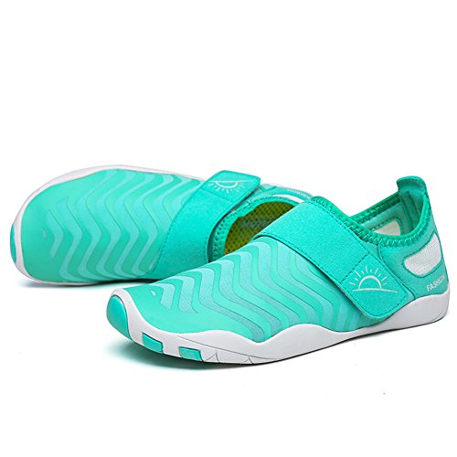 L-RUN Unisex Waten Schuhe Outdoor Mutifunktionale Sport Breathable Mesh Casual Flat-heeled Hellblau