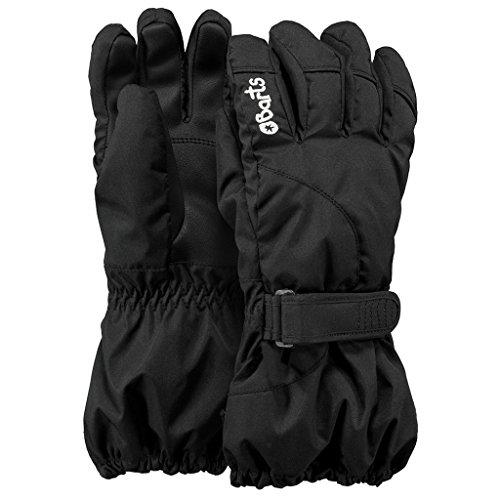 Barts Jungen Handschuhe Schwarz (Schwarz) 5 (8-10yrs) (Kinder Handschuhe Schwarz)