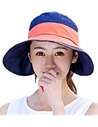 Menschwear mujer Summer Hats Summer Hats Cotton Wide Brim Sun Hats
